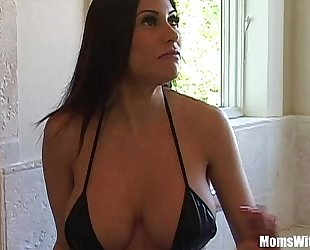 Bigtit milf live-in lover marie magnificent botheration receives anal drilled
