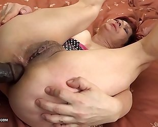Grannies hardcore screwed interracial porn with old honeys loving dark dicks