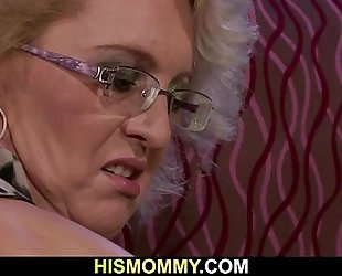 She is awakened by sexually excited lesbo mamma