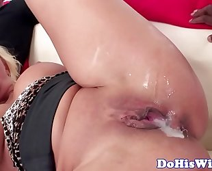 Tattooed wife with bigtits gets creampied