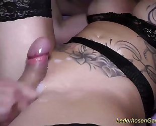 real gangbang party with Milf Dacada