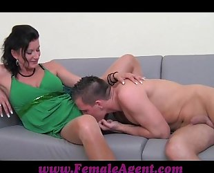 Femaleagent dude has natural talent