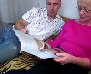 Oldnanny old granny is very very lustful and juicy