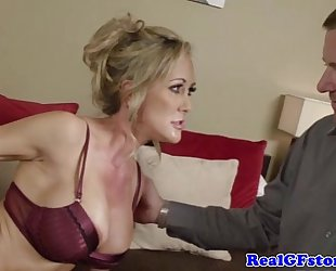 Milf with bigboobs bonks and sucks pecker