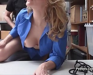 Big tit lp officer riding thiefs hard pecker