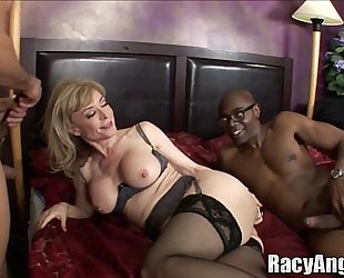Interracial arse milfs alana evans, flower tucci, nina hartley, anjanette astori