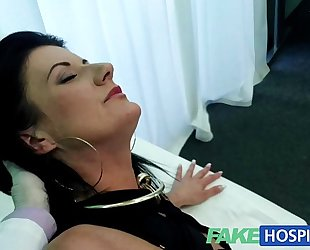 Fakehospital smart aged hot milf has a sex confession to make