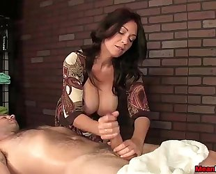 Sexy big-titted wife dong treatment