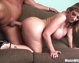 Milf blond sarah jay soft biggest melons drilled