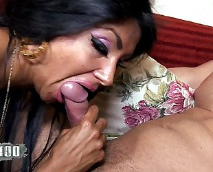 Ivannah (french milf) - two shlong for a hirsute cunt