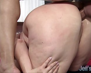 Hot bbw milf alexis couture pleases this guy's jock