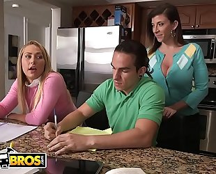 Bangbros - stepmom sara jay and daughter carter cruise trio