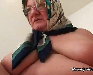 Fat older golden-haired loves hardcore sex