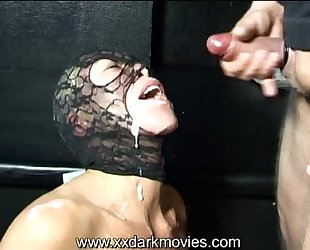 Danish wicked angel in team fuck and bukkake joy