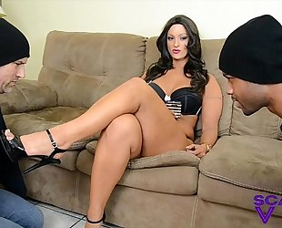 Foot slaves for scarlet stone femdom foot worship