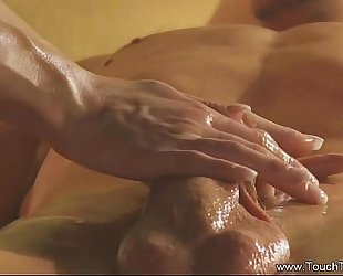 Erotic turkish massage from exotic milf