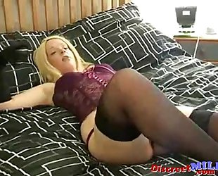 British milf fucking for cash