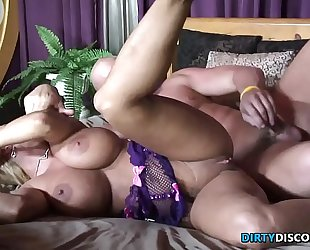 Busty tit drilled milf