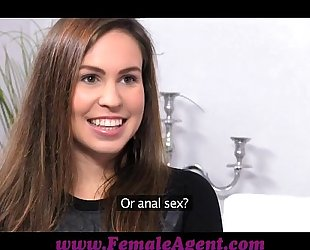 Femaleagent no thing more excellent then an oiled up woman